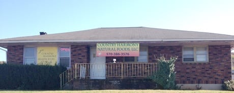 Image of front of Country Harmony Natural Foods