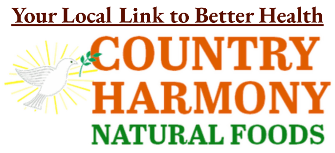 Logo Country Harmony Natural Foods Your Local Link to Better Health (1)